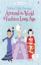 Sticker Dolly Dressing Around the World Around The World & Fashion Long Ago