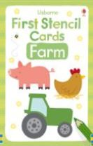 First Stencil Cards: Farm