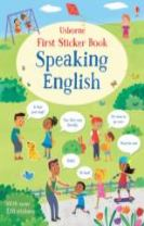 First Sticker Book Speaking English