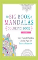 The Big Book of Mandalas Coloring Book, Volume 2