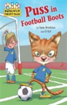 Hopscotch Twisty Tales: Puss in Football Boots