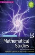 Pearson Baccalaureate Mathematical Studies 2nd edition print and ebook bundle for the IB Diploma