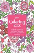 Posh Adult Coloring Book: Cats and Flowers for Fun & Relaxation