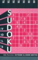 Sudoku Vol. 3: Extreme to Grand Master