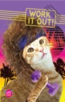 Cats of 1986: Work It Out! Journal