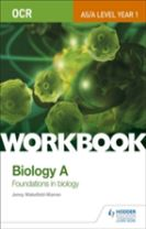 OCR AS/A Level Year 1 Biology A Workbook: Foundations in Biology