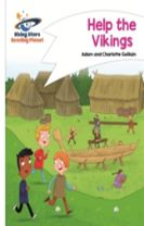 Reading Planet - Help the Vikings - White: Comet Street Kids