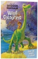 Disney Pixar The Good Dinosaur Wild Colouring