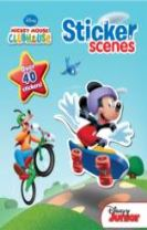 Disney Mickey Mouse Club Sticker Scenes
