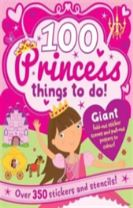Spiral Bound Activity 100 Princess Things to Do