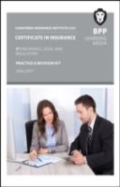 CII Certificate in Insurance IF1 Insurance, Legal and Regulatory