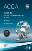 ACCA P6 Advanced Taxation FA2013