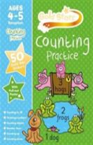 Gold Stars Counting Practice Ages 4-5 Reception