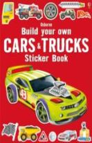 Build Your Own Cars and Trucks Sticker Book
