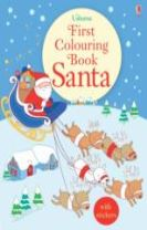 First Colouring Book Santa + stickers