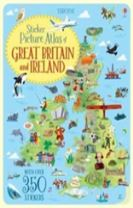 Sticker Picture Atlas of Great Britain and Ireland