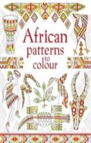 African Patterns to Colour