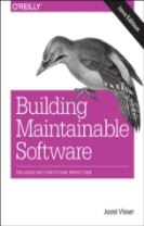 Building Mantainable Software, Java Edition