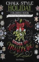 Chalk-Style Holiday Coloring Book