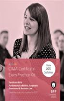 CIMA - Fundamentals of Ethics, Corporate Governance and Business Law