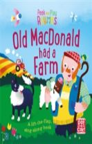 Peek and Play Rhymes: Old Macdonald had a Farm