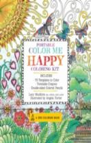 Portable Color Me Happy Coloring Kit