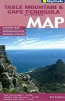 Road map Table Mountain and Cape Peninsula activities