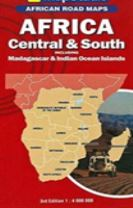 Road map - Africa central and south
