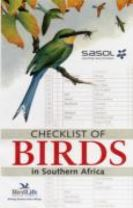 Checklist of birds in Southern Africa