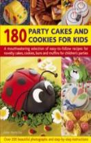 180 Party Cakes & Cookies for Kids