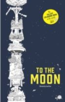 To the Moon: The World's Tallest Colouring Book