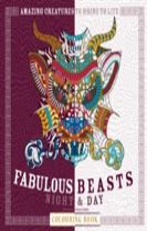 Fabulous Beasts Night & Day Colouring Book