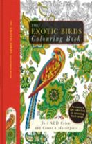 The Exotic Birds Colouring Book