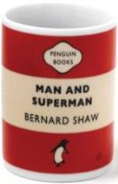 MAN & SUPERMAN MUG