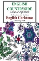 English Countryside and Christmas Colouring Book