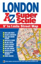 London Super Scale Map