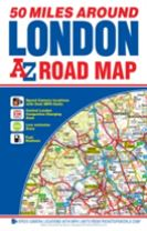 50 Miles Around London Road Map