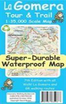La Gomera Tour & Trail Super-Durable Map