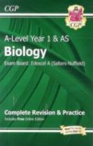 A-Level Biology: Edexcel A Year 1 & AS Complete Revision & Practice with Online Edition