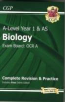 A-Level Biology: OCR A Year 1 & AS Complete Revision & Practice with Online Edition
