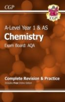 A-Level Chemistry: AQA Year 1 & AS Complete Revision & Practice with Online Edition