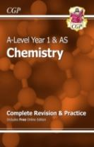 A-Level Chemistry: Year 1 & AS Complete Revision & Practice with Online Edition