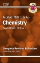 A-Level Chemistry: OCR A Year 1 & AS Complete Revision & Practice with Online Edition