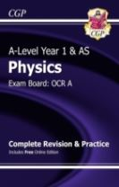 A-Level Physics: OCR A Year 1 & AS Complete Revision & Practice with Online Edition