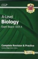A-Level Biology: OCR A Year 1 & 2 Complete Revision & Practice with Online Edition