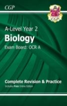 A-Level Biology: OCR A Year 2 Complete Revision & Practice with Online Edition