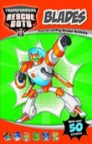 Rescue Bots Blades Press Out and Play