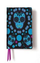 Blue Skulls (Contemporary Foiled Journal)