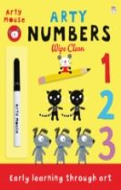 Arty Numbers Wipe Clean