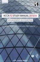 ACCA F2 Management Accounting Study Manual Text